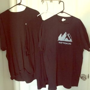 Bicycle T-shirt bundle $3 with any purchase